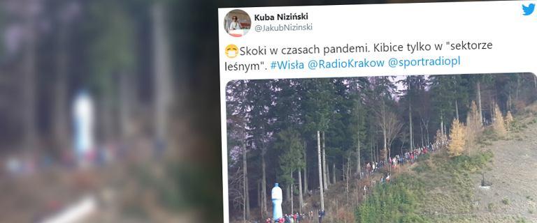Nawet Niemcy zauważyli zachowanie polskich kibiców w Wiśle. Kontrowersyjne