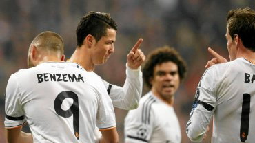 Karim Benzema, Cristiano Ronaldo, Pepe i Gareth Bale