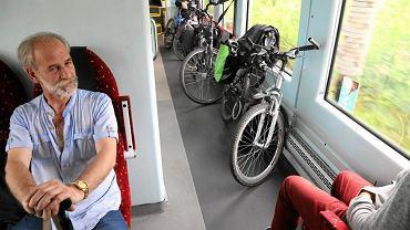 Podróż pociągiem z rowerami