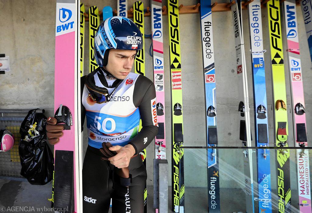 Jakub Wolny podczas mistrzostw świata w Seefeld