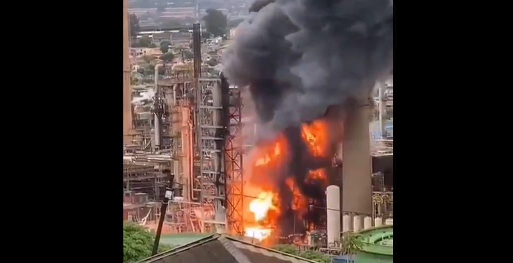 Eksplozja w rafinerii w RPA