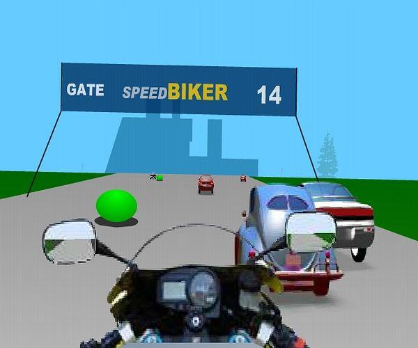 Motorowy wyścig na czas