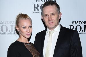 Robert Moskwa z żoną