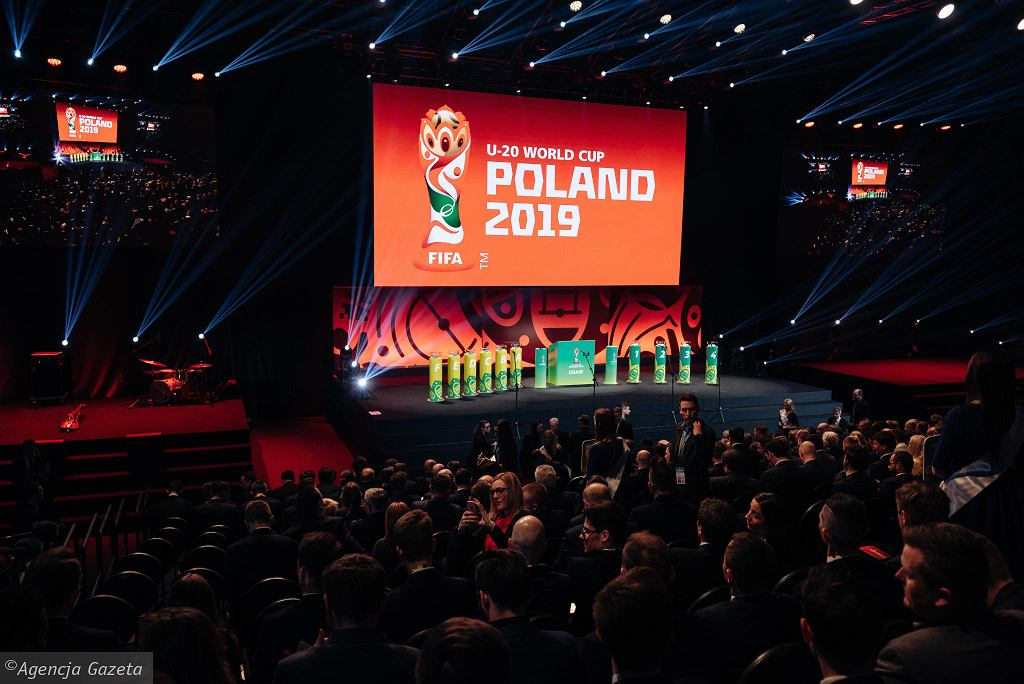 Gdynia Arena. Losowanie mistrzostw świata do lat 20