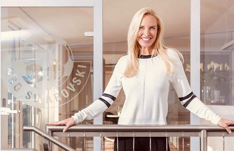 Diana Langes-Swarovska, prezeska WSG Swarovski Tirol