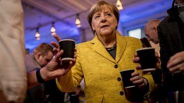 Wybory w Niemczech. Angela Merkel, Berlin, 24 września 2017
