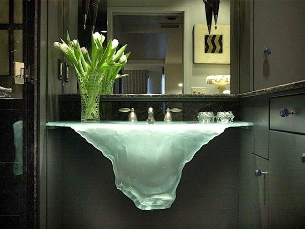 Łazienka: 30 niesamowitych umywalek