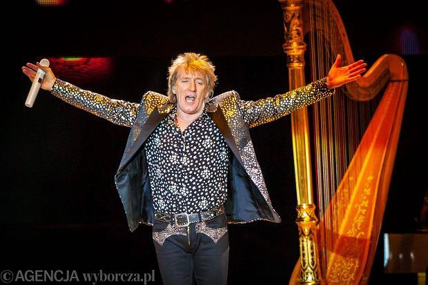 Rod Stewart na koncercie w Gdańsku