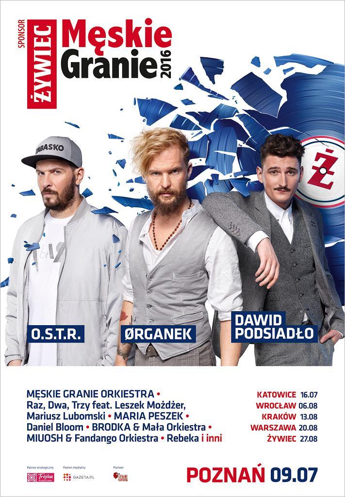 Męskie Granie 2016, Poznań / Materiały prasowe