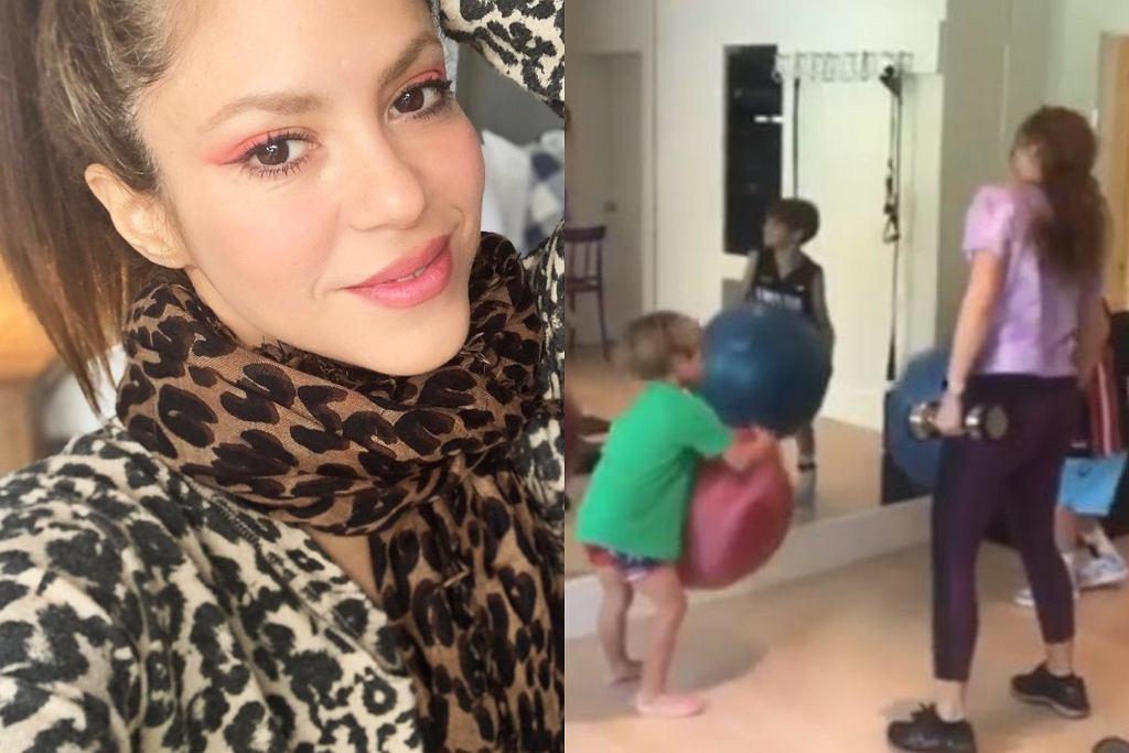 Shakira - treningi