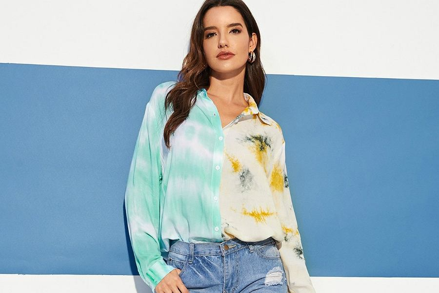bluzki na wiosnę 2019