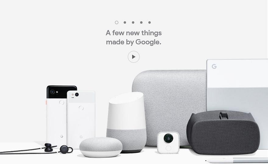 Nowości sprzętowe od Google