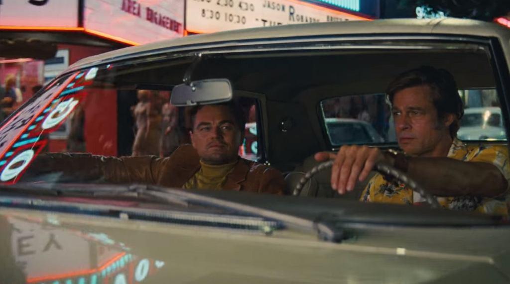 Kadr z zapowiedzi filmu 'Pewnego razu w Hollywood'