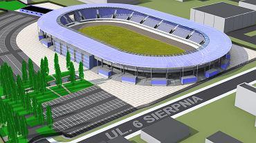 Wizualicja nowego stadionu Orła Łódź