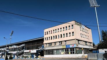 Stadion przy al. Piłsudskiego, na którym swoje mecze rozgrywa Stomil Olsztyn