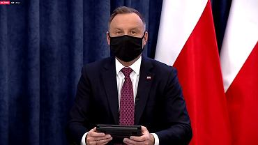 Powrót do szkoły 2021. Andrzej Duda i minister Czarnek odpowiadają na pytania