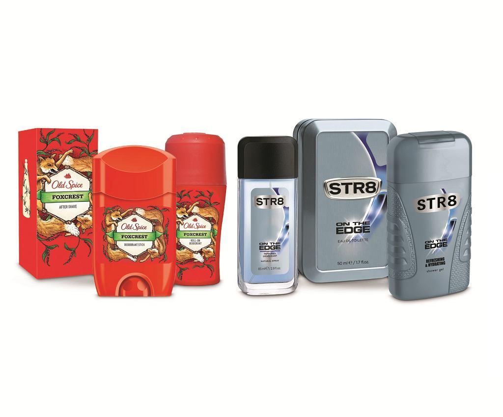 Nowe linie kosmetyków Old Spice i STR8