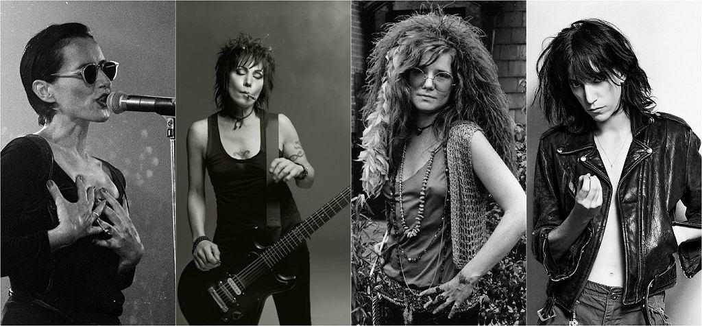 Kobiety Rocka