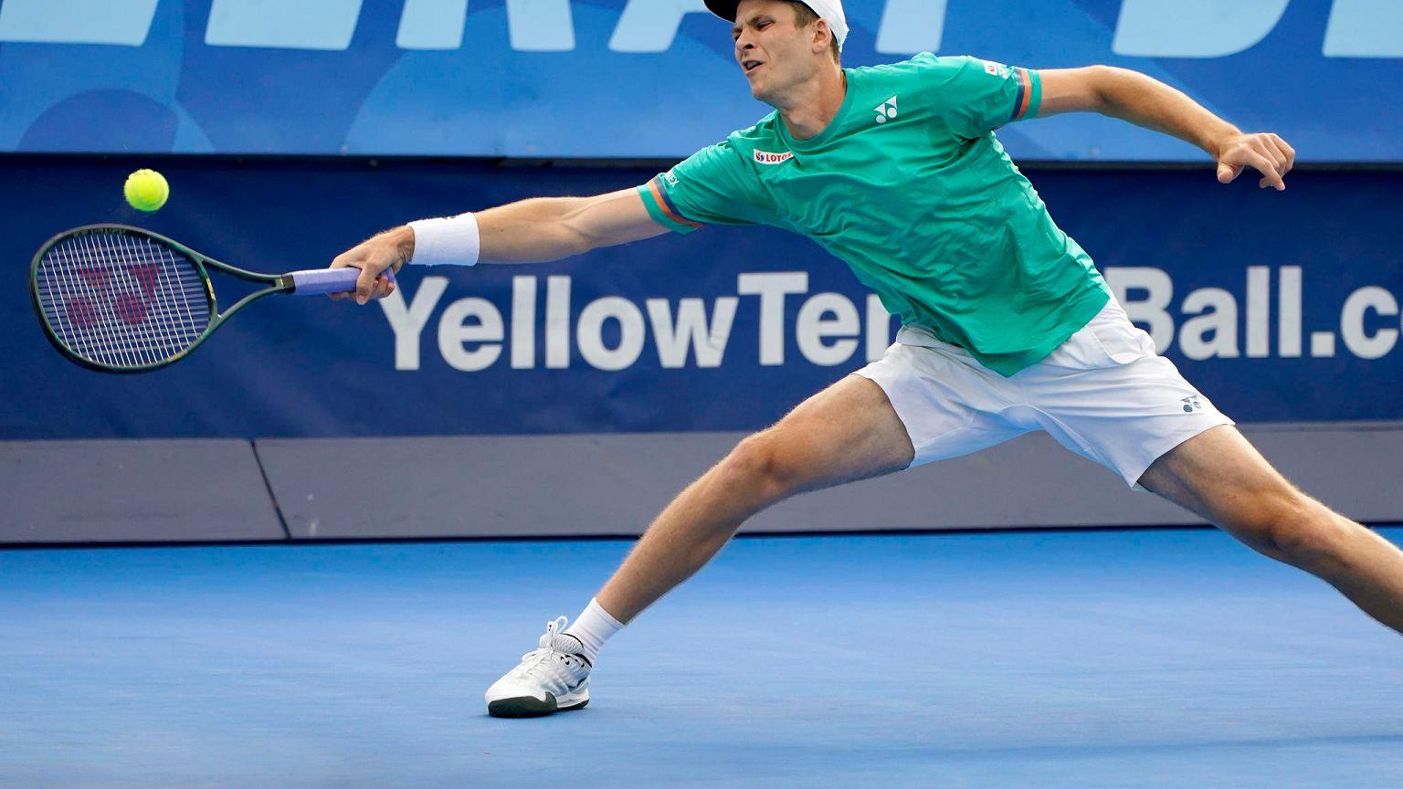 Hubert Hurkacz niestety odpadł z Australian Open