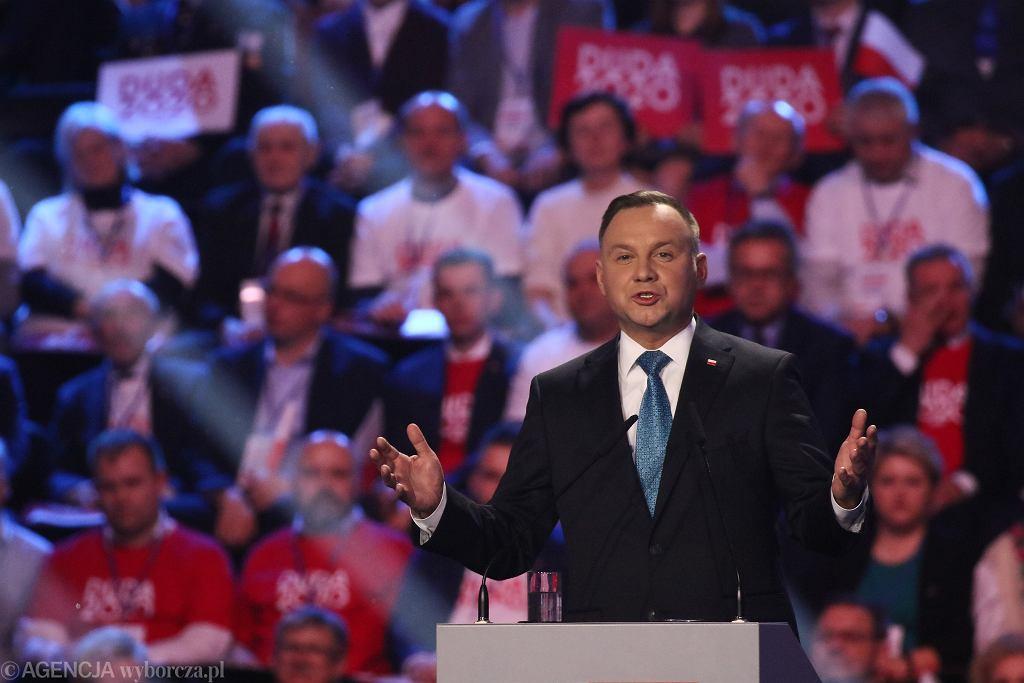Andrzej Duda inauguruje kampanię wyborczą