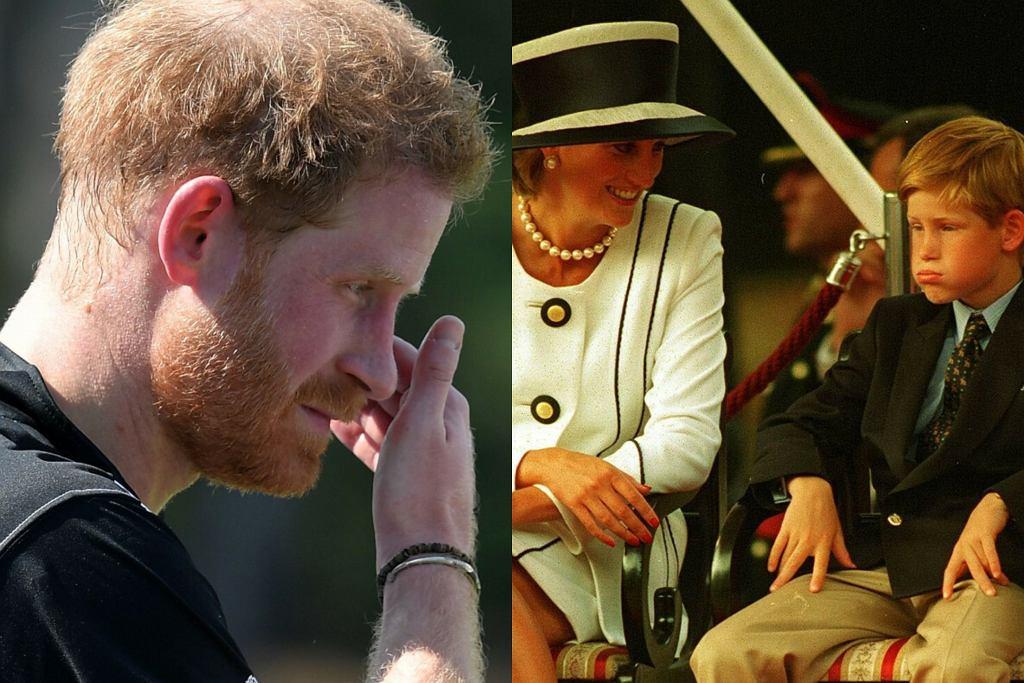Książę Harry i księżna Diana