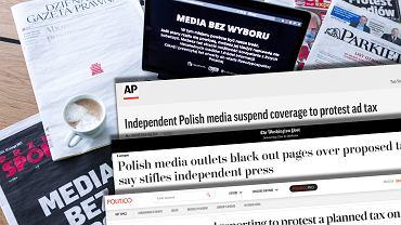 Światowa prasa o 'Mediach bez wyboru'