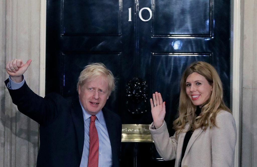 Boris Johnson i Carrie Symonds