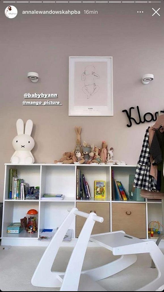Tak wygląda pokój Klary Lewandowskiej.