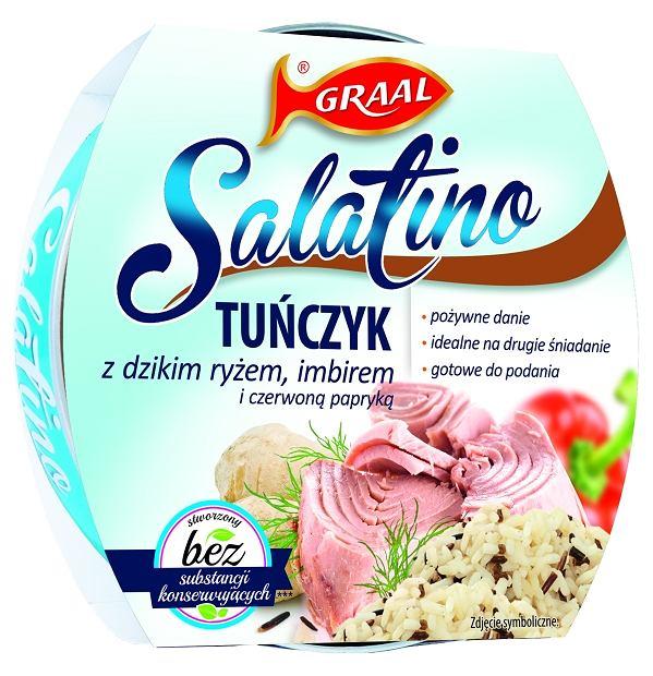 GRAAL Salatino Tuńczyk z dzikim ryżem 160g