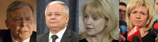 Lech Łotocki jako Lech Kaczyński, Aldona Struzik jako Ewa Błasik