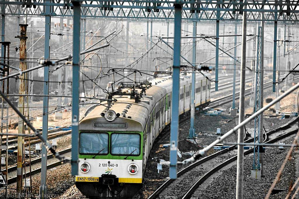 Przebudowa centralnej magistrali kolejowej oraz remont dworca kolejowego w Grodzisku Maz.