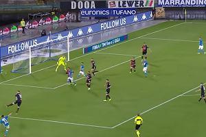 Napoli wygrało po golu z rzutu karnego w 97. minucie. Sędzia korzystał z VAR-u [WIDEO]