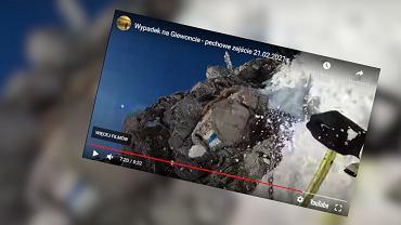 Turysta spadł z Giewontu. Opublikował nagranie, opisał błędy, które popełnił i ostrzegał innych [WIDEO]