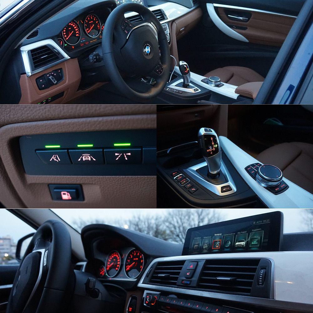 Wnętrze BMW 330e iPerformance