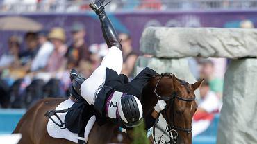 Wypadek podczas zawodów jeździeckich na igrzyskach w Londynie