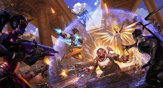 Screenshot z gry Overwatch. Źródło: Facebook