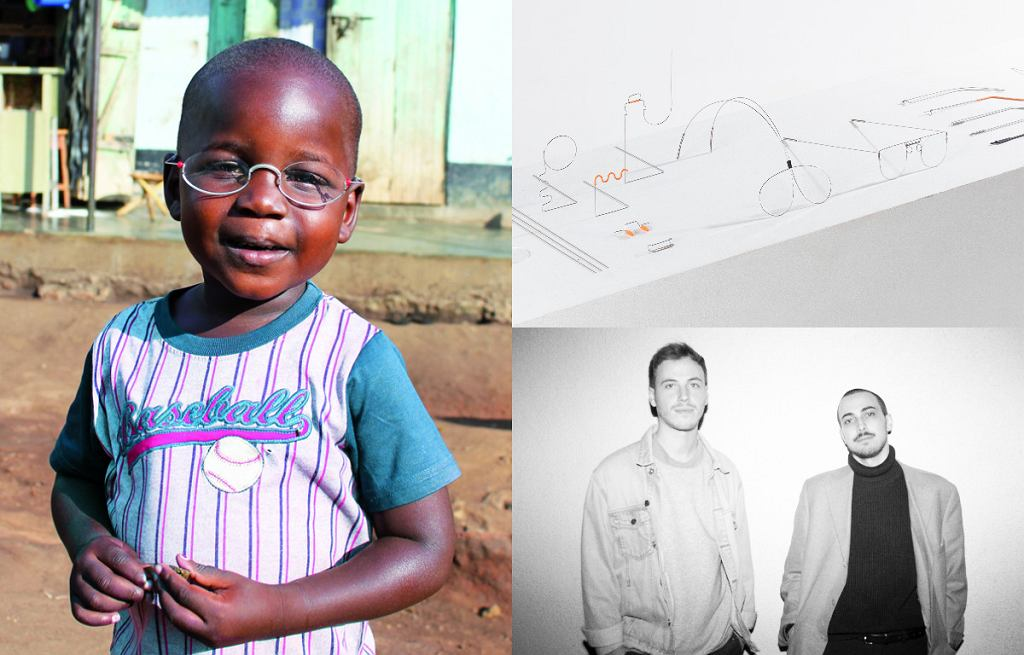 Projekt 'The One Dollar Glasses' i autorzy - projektanci Patrick Henry Nagel i Nils Körner (Haus Otto)