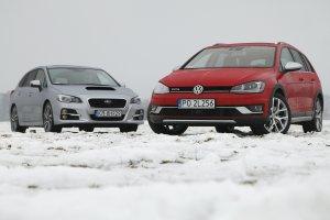 Subaru Levorg vs Volkswagen Golf Alltrack | Serce kontra rozum