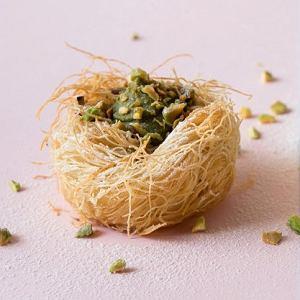 Gniazdka kataifi z kremem z pistacji  Mariety Mareckiej