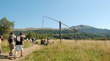 W lipcu Bieszczady przeżyły oblężenie. Na szlakach prawie połowę więcej turystów niż rok wcześniej