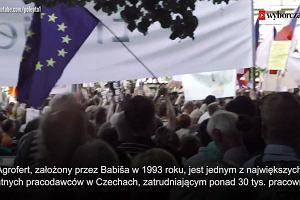 Czesi wyszli na ulice. W Pradze odbył się największy protest od czasów aksamitnej rewolucji