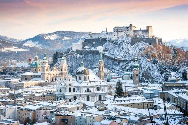Salzburg w Austrii - jedno z najpiękniejszych europejskich miast / fot. Shutterstock