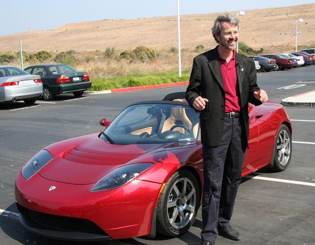 Martin Eberhard i Tesla Roadster