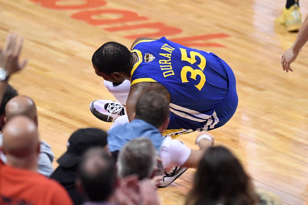 Kontuzja Kevina Duranta
