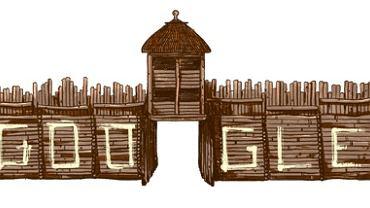 Google Doodle z okazji 85. rocznicy odkrycia osady w Biskupinie
