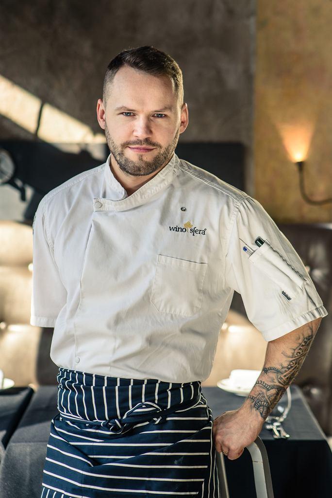 Bartłomiej Brzuska - szef kuchni restauracji 'Winosfera'