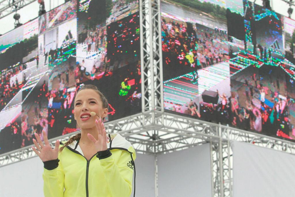 Trening taneczny z Ewą Chodakowską
