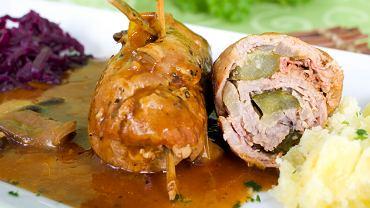 Zrazy wieprzowe można przygotować z karkówki, schabu lub szynki