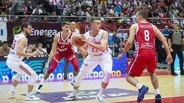,Mecz koszykowki Polska - Chorwacja w Gdansku