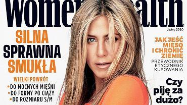 Jennifer Aniston na polskiej okładce 'Women's  Health'